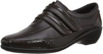 Padders Womens Velvet Loafers 612/61 Brown 7 UK(41 EU)