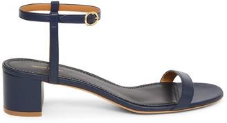 Mansur Gavriel Lamb Ankle Strap Sandal - Blu
