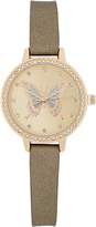 Accessorize Crystal Butterfly Watch