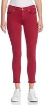 True Religion Casey Skinny Crop Jeans in Merlot