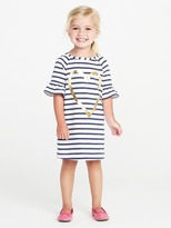Old Navy French-Terry Shift Dress for Toddler Girls