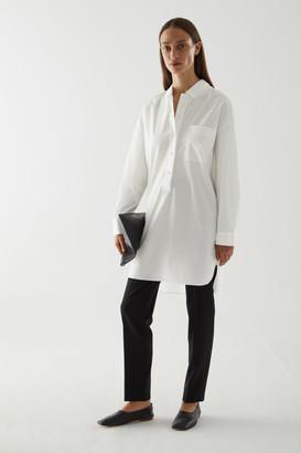 Cos Cotton Poplin Shirt Dress