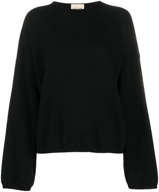 LOULOU STUDIO Dropped Shoulder Jumper