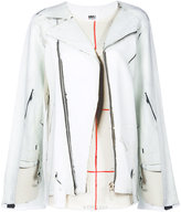 MM6 MAISON MARGIELA embroidered top