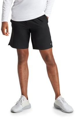 "Russell Men's and Big Men's Performance 9"" 2-in-1 Stretch Woven Short with Printed Boxer Liner"