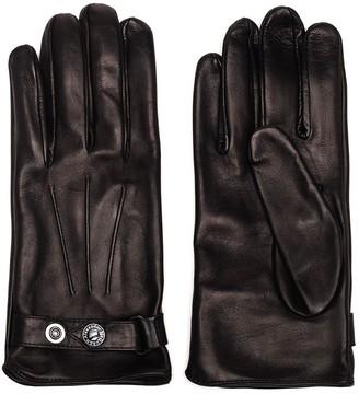 Alexander McQueen Buttoned Strap Gloves