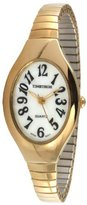 Timetech Women's 2692L Gold-tone Expansion Watch