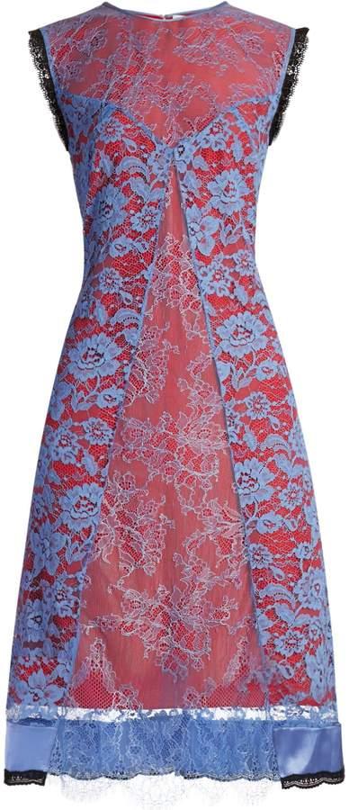 Altuzarra Harry lace-overlay dress