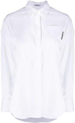 Brunello Cucinelli Chest Patch Pocket Shirt