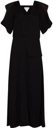 Bottega Veneta Cutout Midi Dress