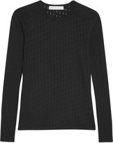 Kain Label Zephyr perforated cotton-jersey top