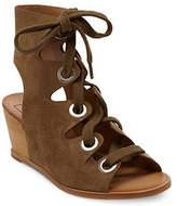 Dolce Vita Lei Suede Wedge Heel Sandals