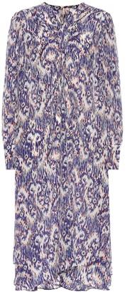 Etoile Isabel Marant Yana printed silk dress