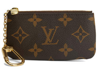 Louis Vuitton Key Pouch Monogram Brown