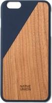 Native Union Blue Clic Wooden Iphone6 Case Cherry