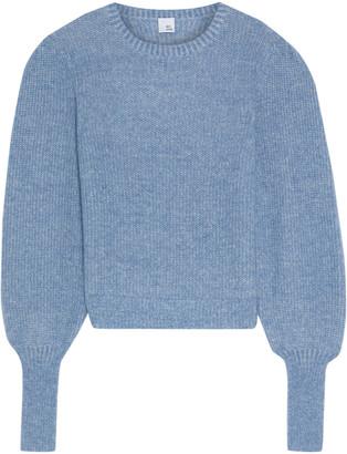 Iris & Ink Ava Marled Mohair-blend Sweater
