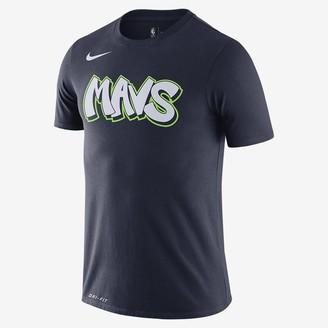 Nike Men's Dri-FIT NBA T-Shirt Dallas Mavericks City Edition Logo