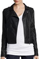 Arizona Faux Leather Moto Jacket - Juniors
