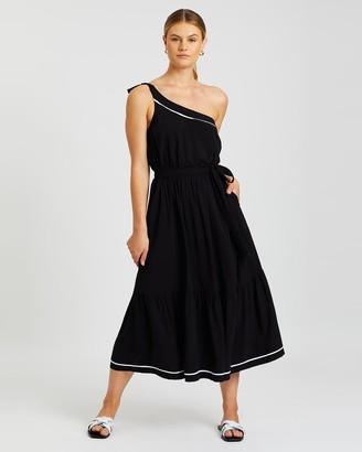 Jets Classique One-Shoulder Dress