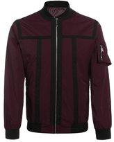 Coofandy Men's Lightweight Zip Up Contrast Color Slim Fit Bomber Jacket