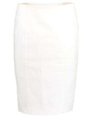 Veronica Beard Back Zip Pencil Skirt