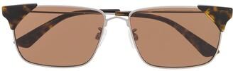 McQ Swallow Rectangular Sunglasses