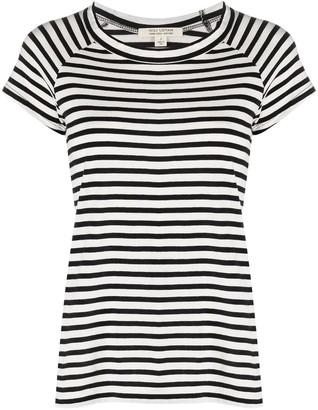 Nili Lotan Baseball striped cotton T-shirt