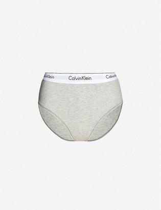 Calvin Klein Modern Cotton high-rise stretch-jersey briefs