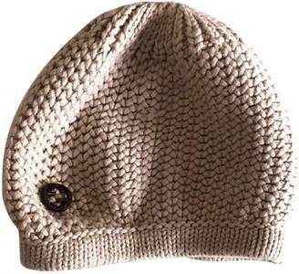 Gucci Beige Wool Hats