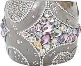 Arunashi Wide Sapphire and Diamond Cuff