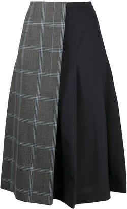 Marni Contrast Wrap Skirt