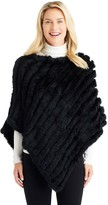 J.Mclaughlin Cortina Fur Poncho