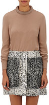 Christopher Kane Women's Crystal-Accented Wool-Blend Sweater-TAN