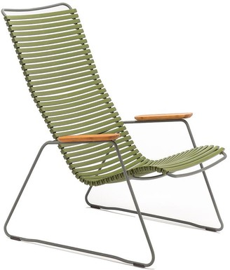 Ecc Lighting & Furniture Click Outdoor Lounge Chair Olive Green