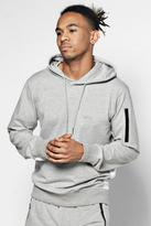 Over The Head Sports Hoodie With Logo