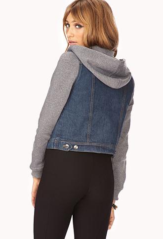 Forever 21 Easy Denim Jacket