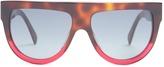 CÉLINE EYEWEAR Shadow aviator D-frame acetate sunglasses