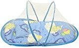Baby Mosquito Net Crib Bed, AMA(TM) Portable Folding Infant Nursery Bed Crib Canopy Baby Travel Bed Crib (Blue)