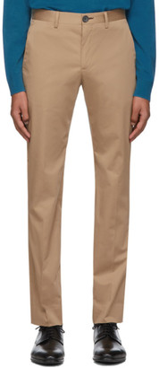 Paul Smith Tan Chino Slim Trousers