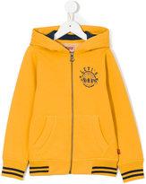 Levi's Kids - logo print hoodie - kids - Cotton/Polyester - 4 yrs
