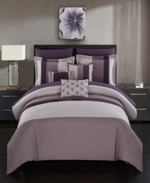 Chic Home Ayelet 10 Piece Queen Bed In a Bag Comforter Set Bedding
