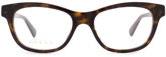 Gucci Gg0372o Havana Glasses