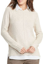 Lauren Ralph Lauren Petite Aldyra Layered Marled Sweater