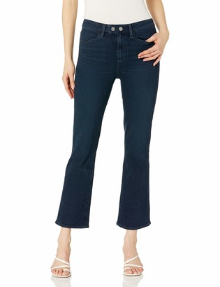Paige Women's Claudine Transcend Vintage HIGH Rise Extended WASITBAND Flare Leg Jean