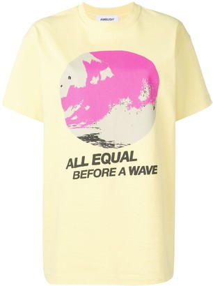 Ambush All Equal print T-shirt