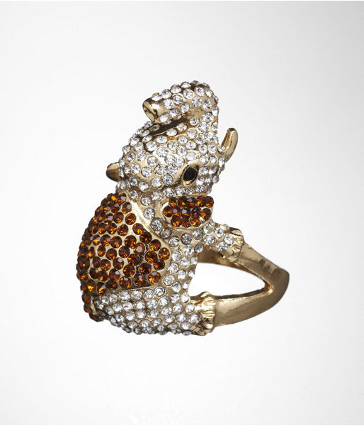 Express Pave Elephant Ring