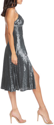 Dress the Population Mimi Sequined Sweetheart Cocktail Dress
