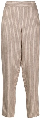 Fabiana Filippi Striped High Waisted Trousers