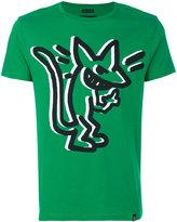 Marc Jacobs stinky rat print T-shirt - men - Cotton - S