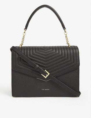 Ted Baker Brittni quilted leather satchel